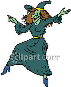 Witch clipart dancing Witch Dancing Clipart Royalty Free