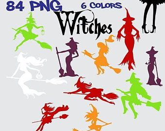Witch clipart fairytale SALE and 50% tale art