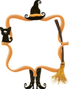 Witch clipart frame Corners best Frames 183 and
