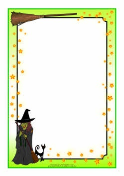 Witch clipart frame Borders/frames Best borders 17 about