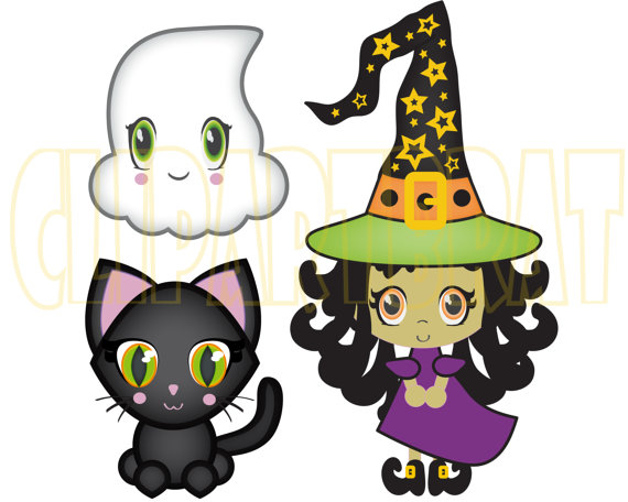 Witch clipart fun Clip Art a Commercial This