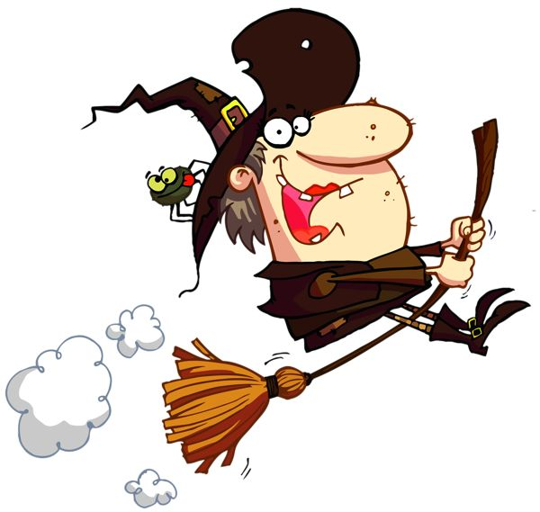 Witch clipart fun On Pinterest Witch HALLOWEEN/FALL Halloween