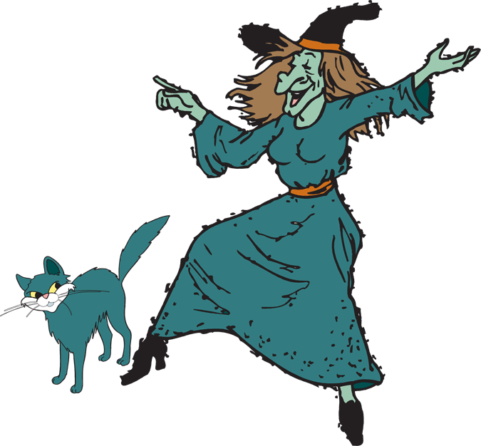 Witchcraft clipart halloween witch Kid witch witch clipart Fun