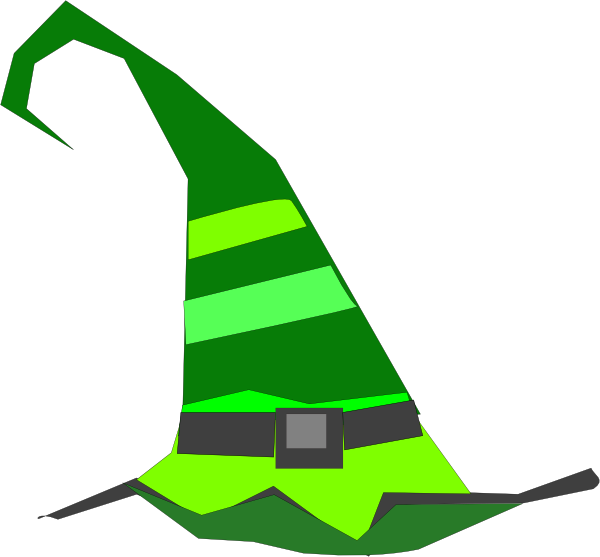 Witch Hat clipart green Com Download vector Hat Clker