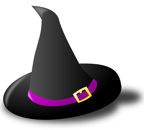 Witch clipart halloween witch hat And Witch Black Hat Hat
