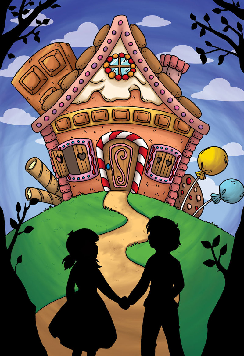 Cottage clipart hansel and gretel And And on Hansel Gretel