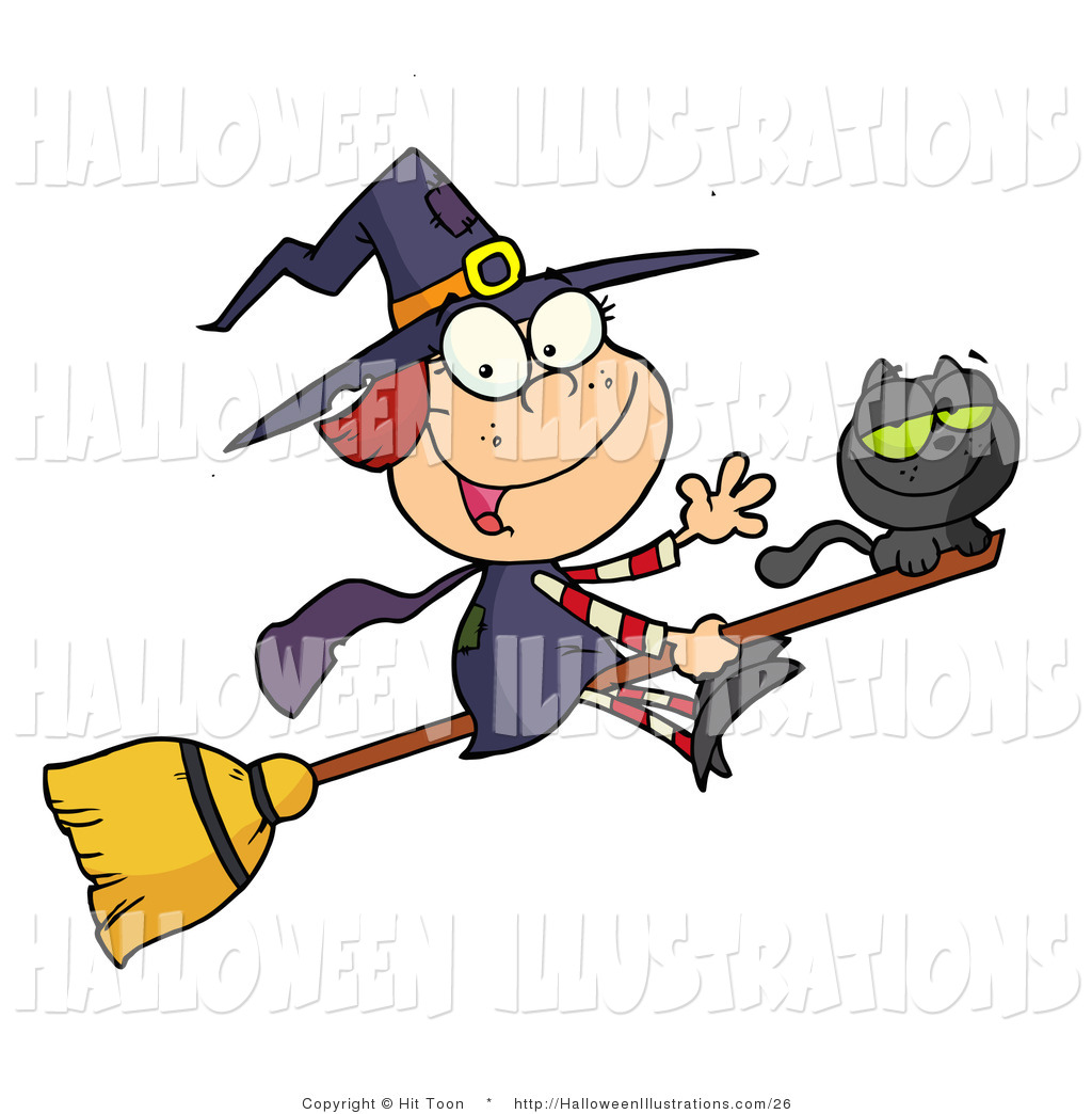 Witch clipart happy Clipart Broom Free Clipart Images