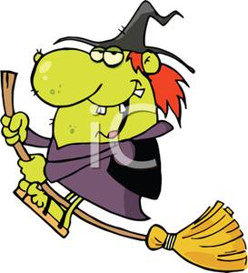 Witch clipart hideous Witch Magic Riding Magic Picture