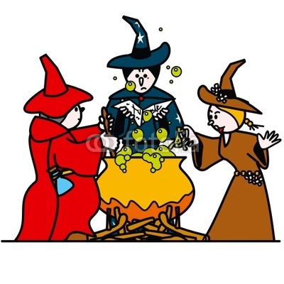 Witchcraft clipart three Witches Witches Clipart cliparts 3