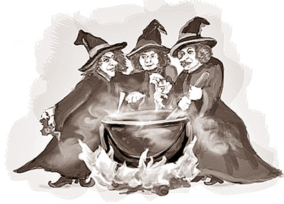 Witchcraft clipart macbeth witch News Macbeth of Daily Riddles
