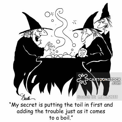 Witchcraft clipart three Cartoons Comics and funny collection