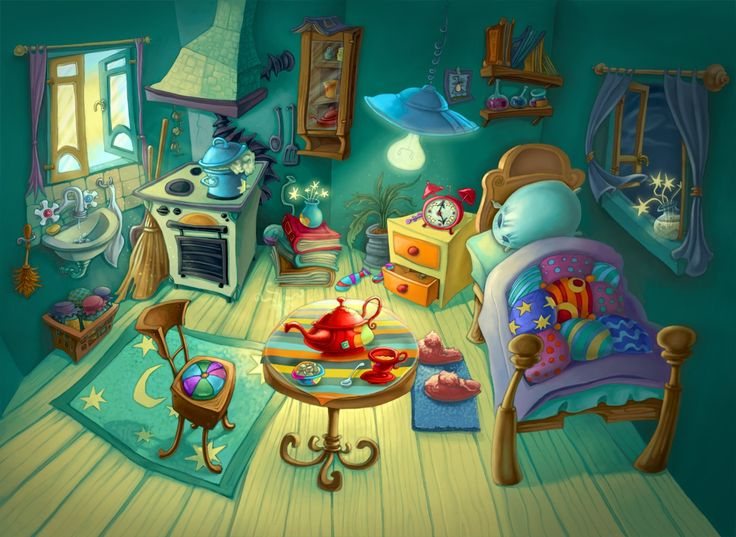 Witch clipart room (1164×850) witch cartoon game Room