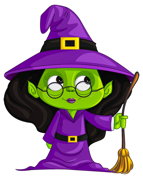 Witch clipart room Halloween Witch Witch Image Large