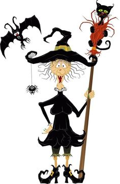 Witch clipart silly My around good look good