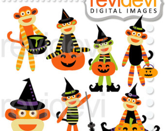 Witch clipart sock Witch clipart Halloween Little off