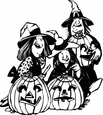 Witchcraft clipart three Witch Free Clipart  clip