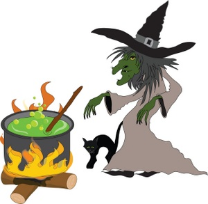 Witch clipart unusual Cauldron clipart kid Clipartix kid