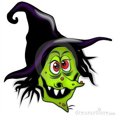 Witch clipart witch face Or (Not WitchesHalloween ClipartHalloween 409