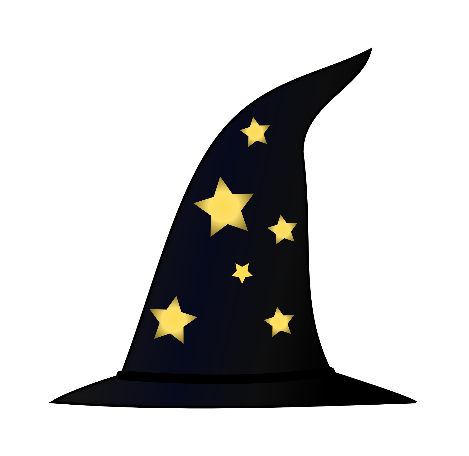 Witch Hat clipart wizard Colouringbook 1979px Hat Wizard Results