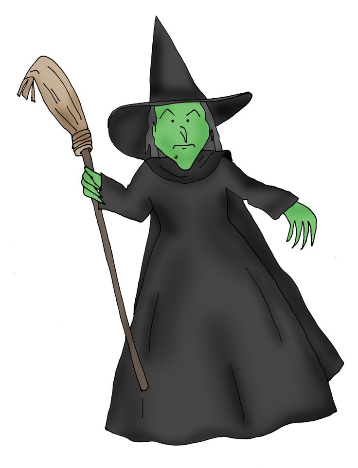 Witch clipart wizard oz witch Wicked+Witch2 Oz best Printables 344