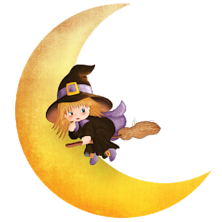 Witch clipart yellow AND HALLOWEEN BABY CLIP CLIP