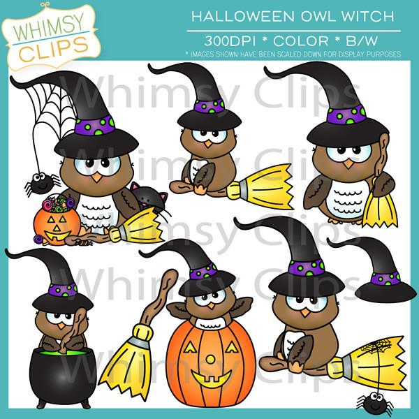 Witch Hat clipart cute owl & Owl Art Illustrations Owl