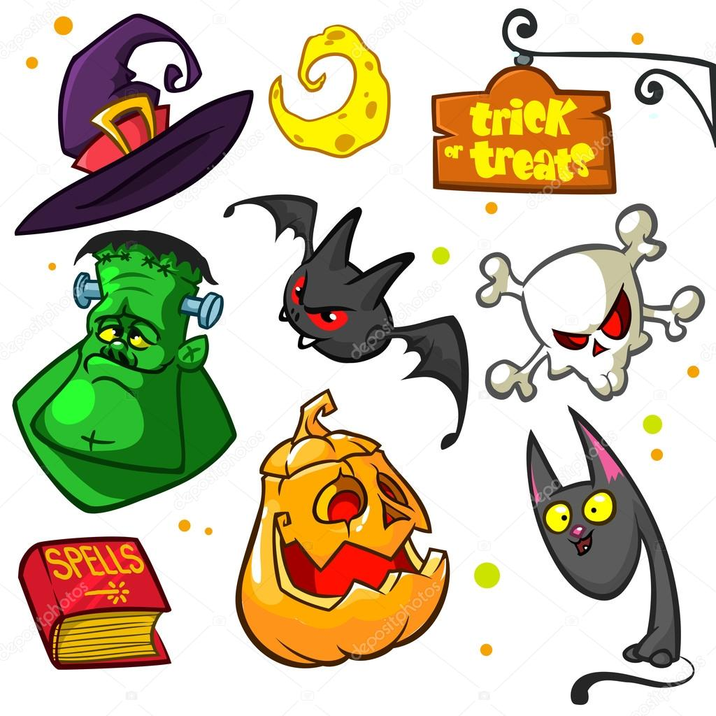 Witch Hat clipart halloween skull Witch cat  and of