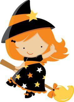 Witch Hat clipart kawaii Image and Pumpkin net centerblog