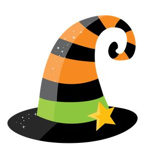 Witch Hat clipart kawaii Halloween Pinterest images Personagens 664