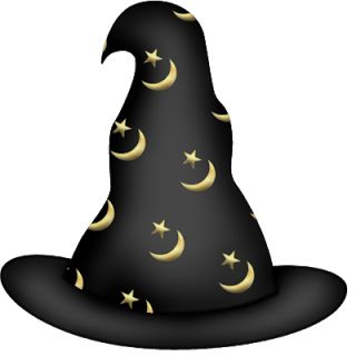 Witch Hat clipart kawaii HALLOWEEN on Printables 1611 ART