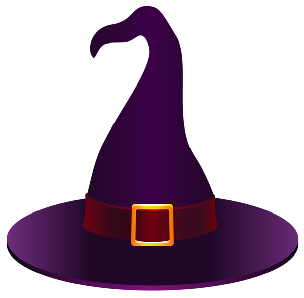 Witch Hat clipart purple Hat PNG PNG halloween Picture