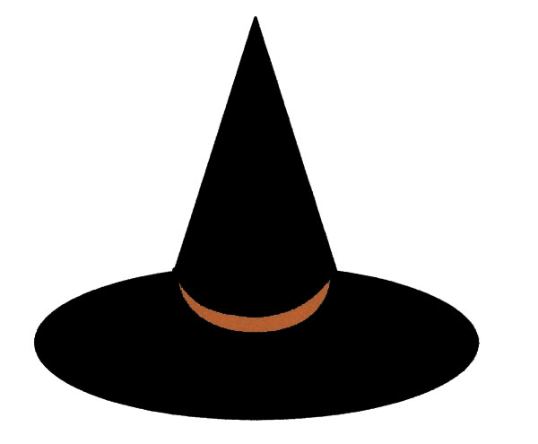 Witch Hat clipart silhouette Witch becuo pictures ClipartBarn silhouette