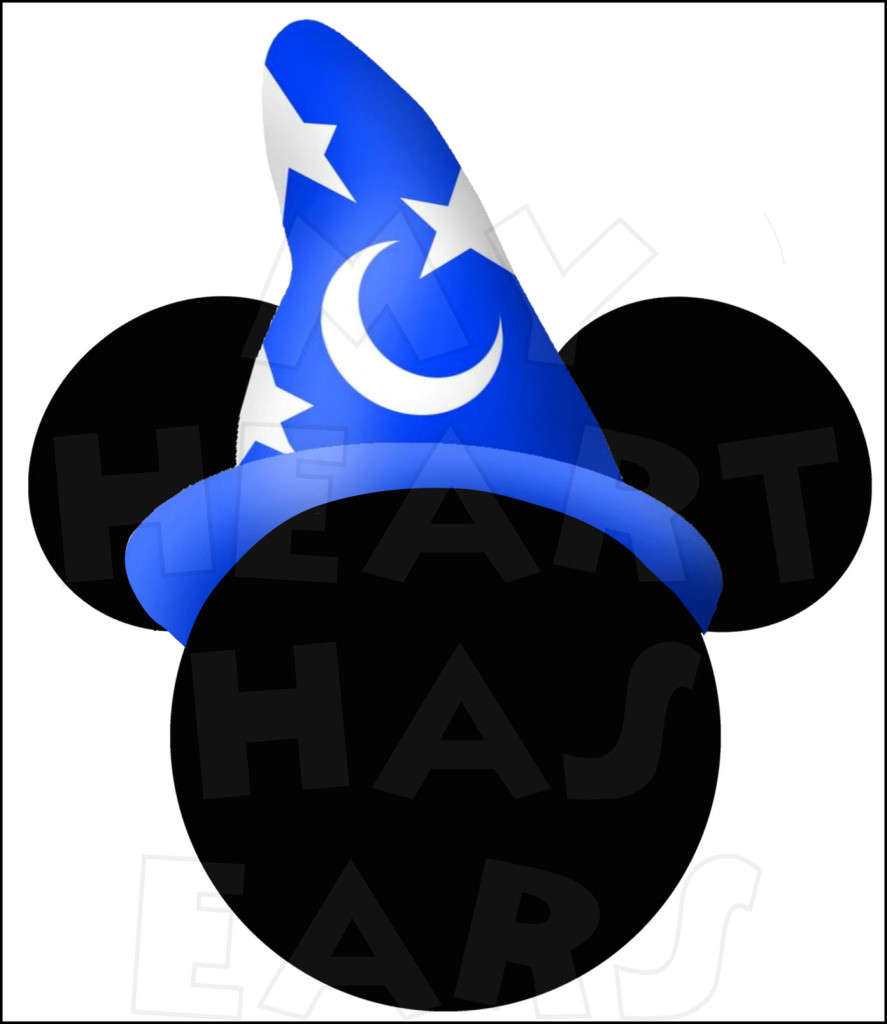 Witch Hat clipart sorcerer INSTANT Mickey DOWNLOAD Mouse Fantasmic