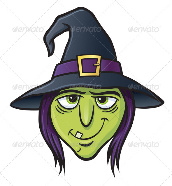 Witch Hat clipart wicked witch Face Witch 8587315 Face