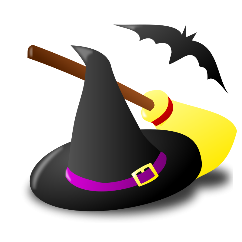 Witchcraft clipart halloween full moon Witches and Graphics Which gear