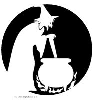 Witchcraft clipart halloween full moon 1K FREE Voodoo cauldron and