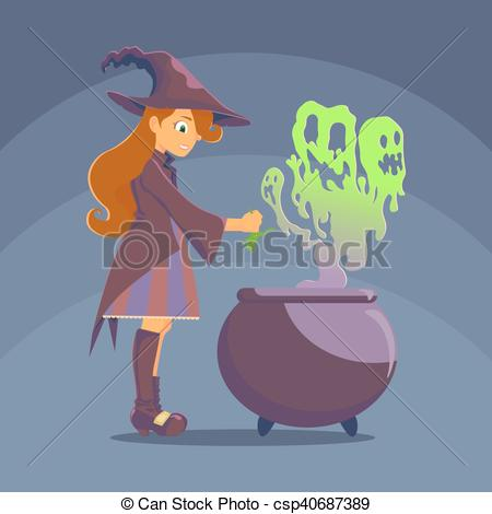 Witchcraft clipart curse A potion  with brews