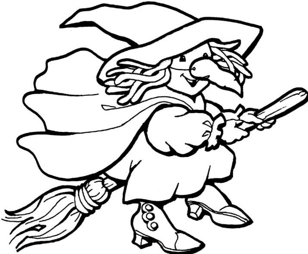 Witchcraft clipart halloween coloring Page HalloweMonsters Images Images Coloring