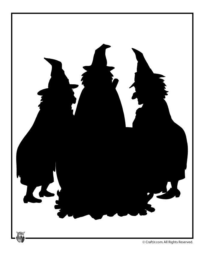Witchcraft clipart macbeth witch Halloween Jr Halloween ~ Print