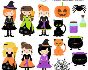 Witchcraft clipart three Clipart Etsy – on Art