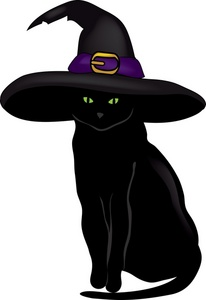 Witchcraft clipart witch cat Black Cats Clipart Black Download