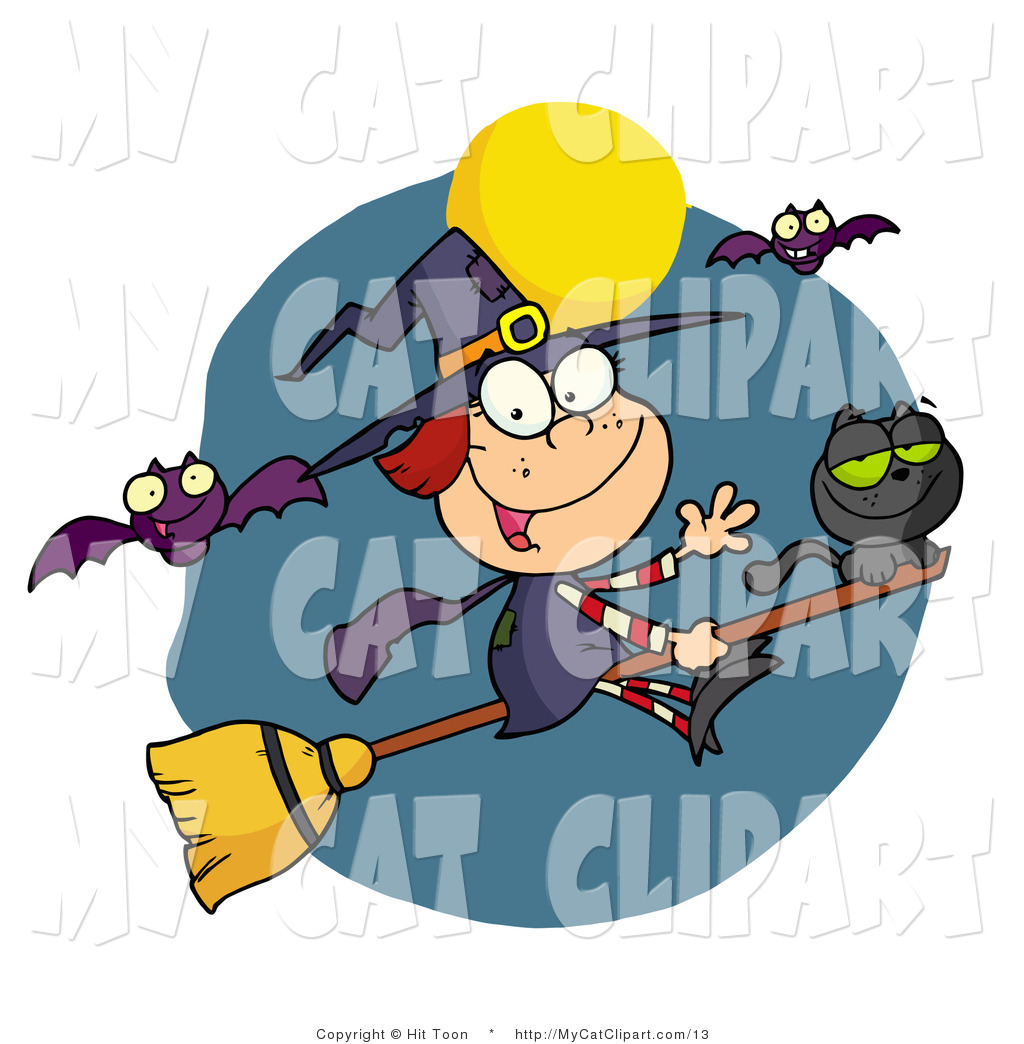 Witchcraft clipart witch cat Cat  Witches