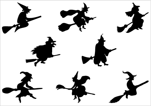 Witchcraft clipart witch doctor Free a broomstick Art Halloween
