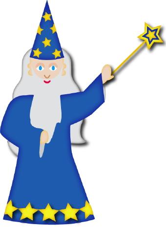Wizard clipart Art clip Wizard