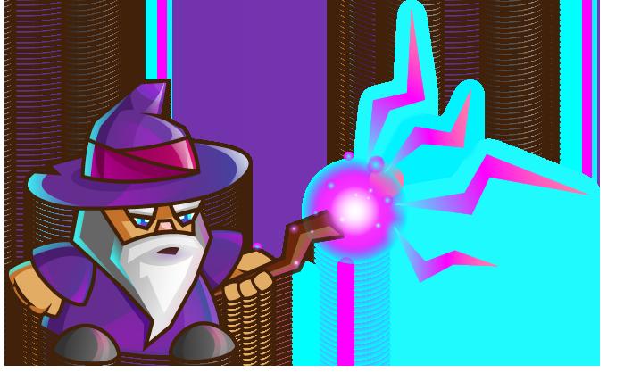 Wizard clipart & Casting Wizard Cartoon Art