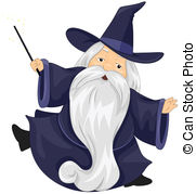 Wizard clipart Clipart  Wizard A Wizard