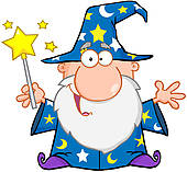 Wizard clipart boy Wizard · Free Waving Wand