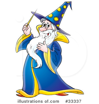 Wizard clipart castle Royalty Alex #33337 (RF) Illustration