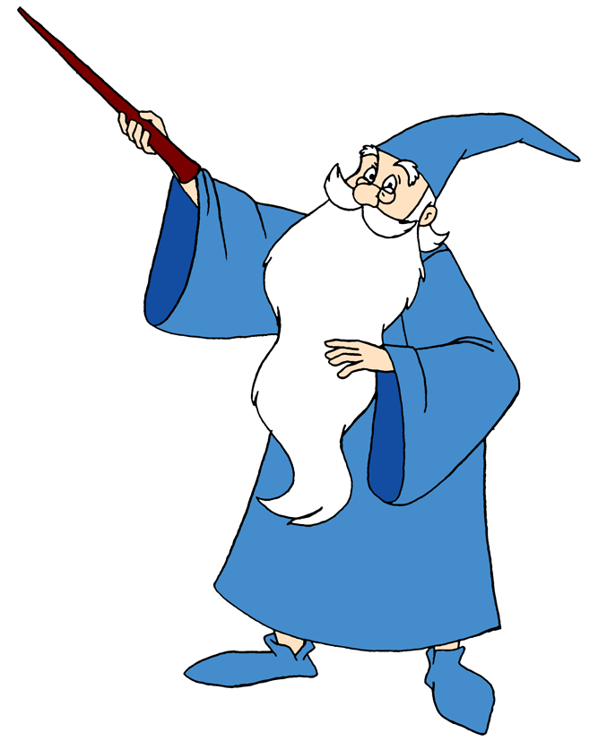 Wizard clipart animated Merlin Download Wizard Art Clip