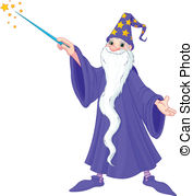 Wizard clipart animated Wizard and leafsomen11/335; royalty Clipart